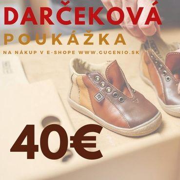 Gift voucher 40 €