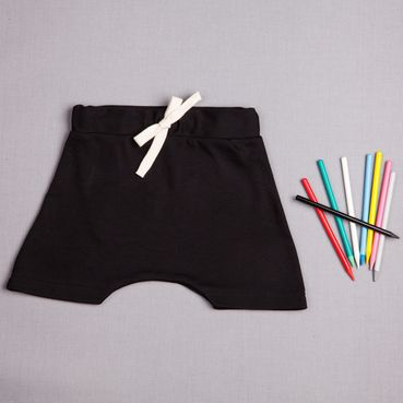 Shorts  black - GOTS