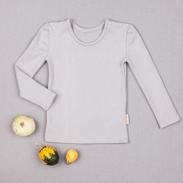 Undershirt gray - GOTS