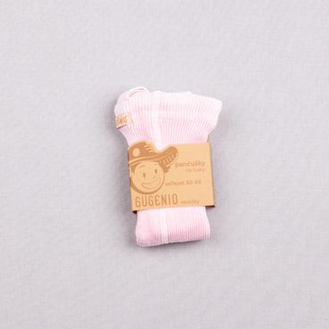 Tights with braces powder pink