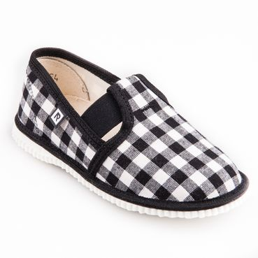 Children's slippers - black diamond