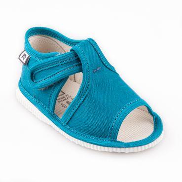 Children's slippers - petroleum
