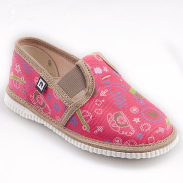 Children's slippers -  pink phone