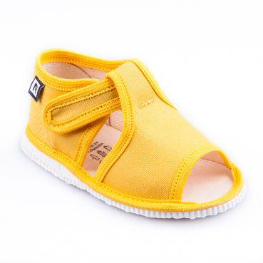 Children's slippers - yellow