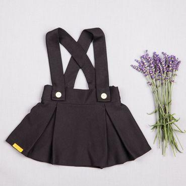 Skirt black - GOTS
