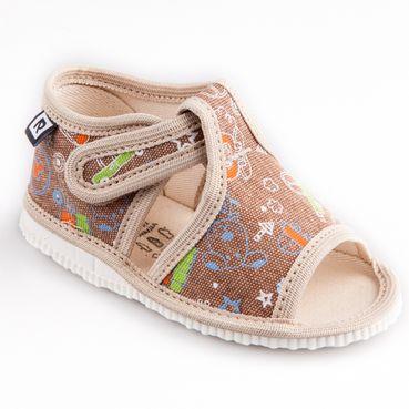 Children's slippers -  beige phone